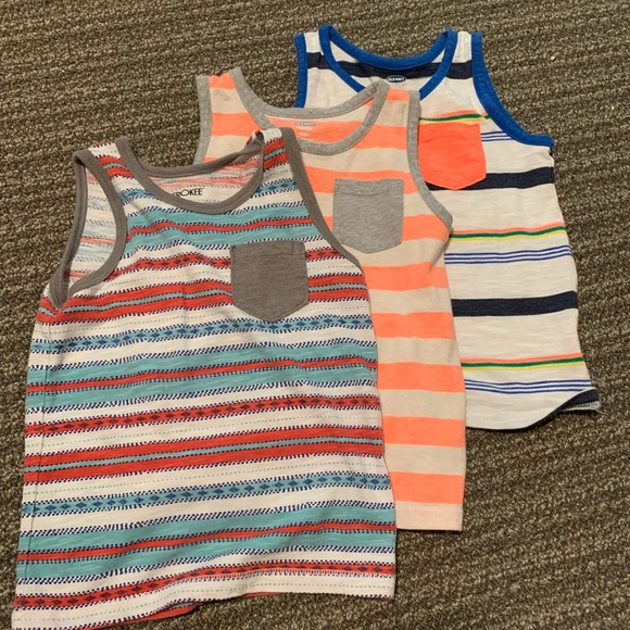 Old Navy Other - Boys bright neon tank bundle